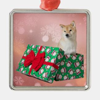 Presente de Barkley - ornamento cuadrado superior