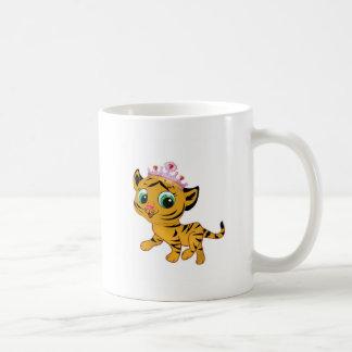 Presente lindo de princesa Tiger Tigress Tiara Gif Taza