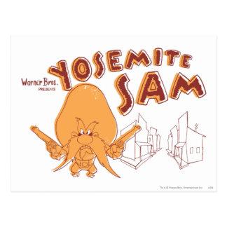 Presentes de Yosemite Sam Warner Bros. Postal
