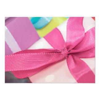 Presentes perfectos del bonito invitación 13,9 x 19,0 cm