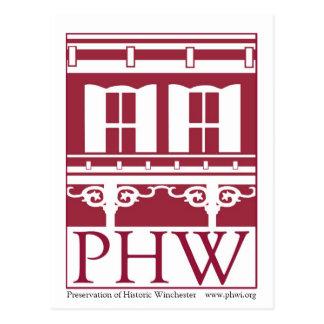 Preservación del logotipo histórico de Winchester Postal