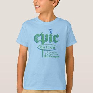 """""""Preserve camiseta de los niños de la nación"""""""