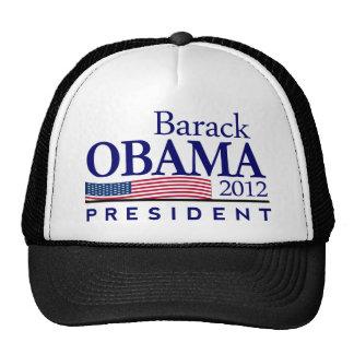 presidente 2012 de Barack Obama Gorros Bordados