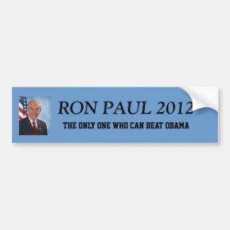 Presidente 2012 de Ron Paul Etiqueta De Parachoque