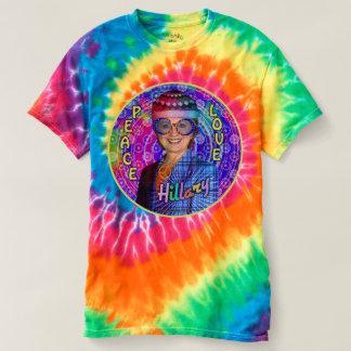 Presidente 2016 de Hillary Clinton Hippie Camiseta