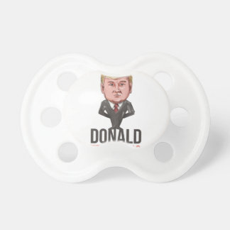 Presidente 2016 del triunfo Republican Caricature Chupetes De Bebe