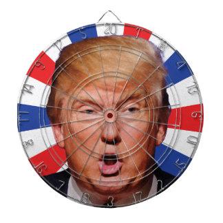 Presidente anti Donald Trump - boca grande Tablero De Dardos