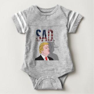 Presidente anti sarcástico divertido Donald Trump Body Para Bebé