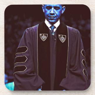 Presidente Barack Obama en la universidad 3. de Posavasos