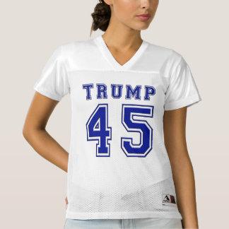 Presidente Blue Football Jersey de Donald Trump