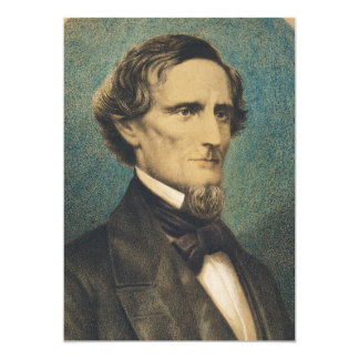 Presidente de estados confederado Jefferson Davis Comunicado Personalizado