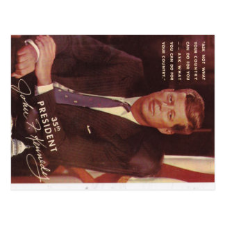 Presidente de JFK Kennedy Postal