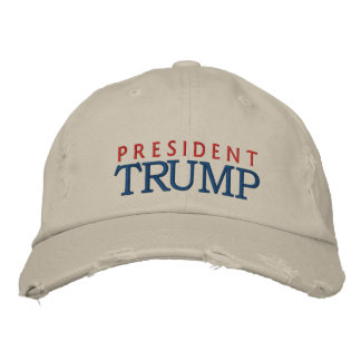 Presidente Donald Trump Gorra Bordada