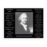 Presidente John Quincy Adams Tarjetas Postales