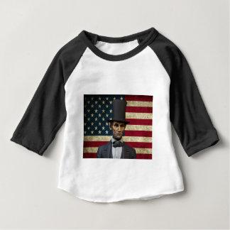 presidente Lincoln Camiseta De Bebé