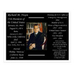 Presidente Richard Nixon Postales