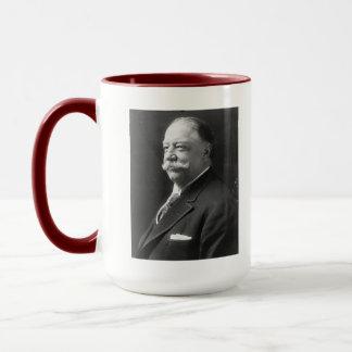 Presidente Taft Portrait y taza del hecho