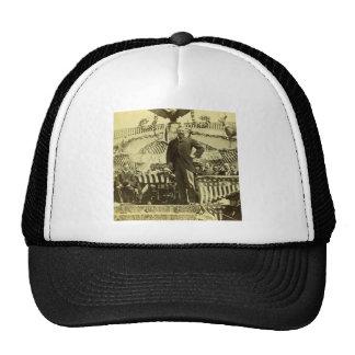 Presidente Theodore Roosevelt que habla 1903 Gorro