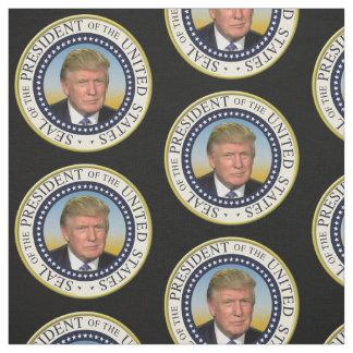Presidente Trump Photo Presidential Seal Tela