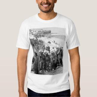 Presos británicos en Dunkerque, imagen de Camisetas