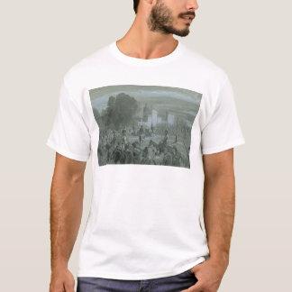 Presos de Communard escoltados a Versalles, 1871 Camiseta