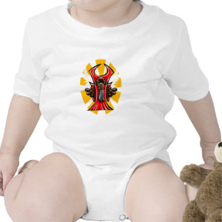 Primate con alas trajes de bebé