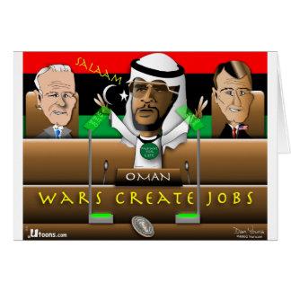 Primavera del árabe de Obama Tarjeta De Felicitación