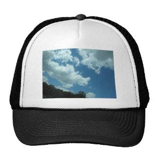 Primavera junio de la foto del horizonte de gorras de camionero