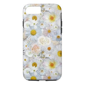 Primavera nupcial del boda floral del ramo de las funda iPhone 7