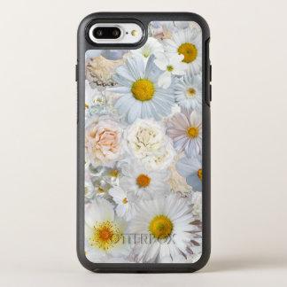 Primavera nupcial del boda floral del ramo de las funda OtterBox symmetry para iPhone 7 plus