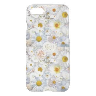 Primavera nupcial del boda floral del ramo de las funda para iPhone 7