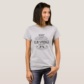 Primaveras del olmo, Arkansas 100o Anniv. camiseta