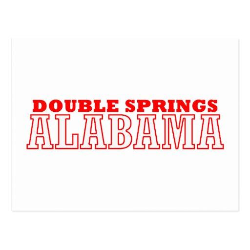 Primaveras dobles, Alabama Tarjetas Postales