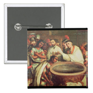 Primer bautismo de los indios de los Dominicans Pin