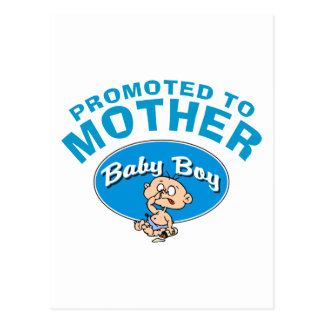 Primer bebé de la nueva madre divertida postal