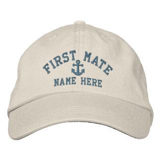 Primer compañero - personalizable gorra de beisbol bordada