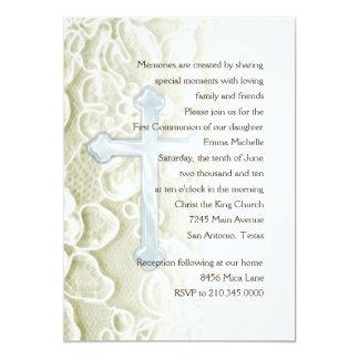 Primer cordón de la comunión de la invitación y