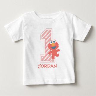 Primer cumpleaños del Sesame Street el | Elmo Camiseta De Bebé