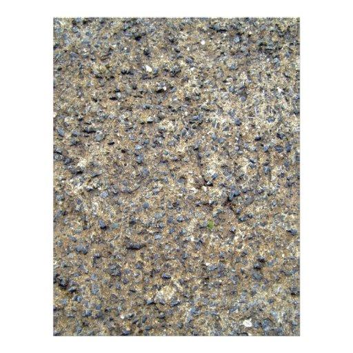 Primer de la textura de tierra rocosa tarjetas informativas