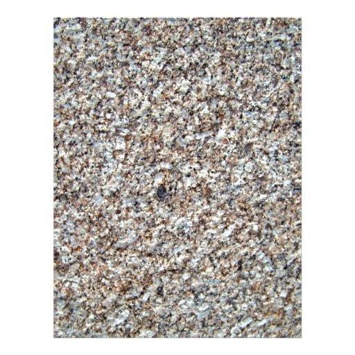 Primer de la textura del fondo del granito flyer a todo color
