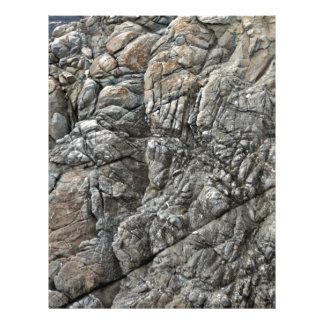 Primer de la textura inconsútil de la roca tarjetas publicitarias