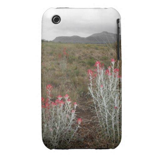 Primer de las plantas de desierto, Del Río, Tejas, Case-Mate iPhone 3 Cárcasas