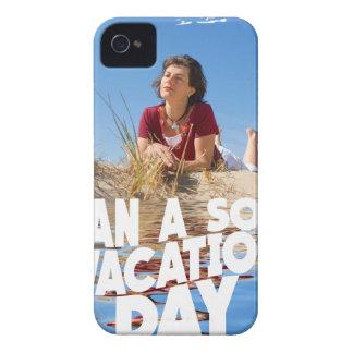Primer de marzo - planee un día de vacaciones a funda para iPhone 4