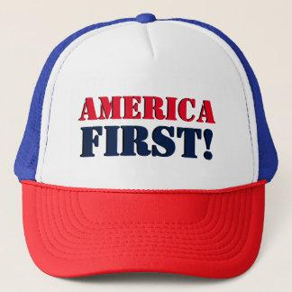 Primer gorra del camionero de América