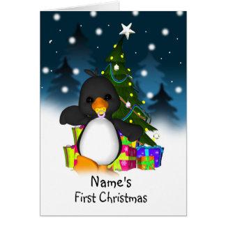 Primer navidad, primera tarjeta de Navidad de los