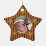Primer ornamento de encargo del navidad de Babys Ornaments Para Arbol De Navidad