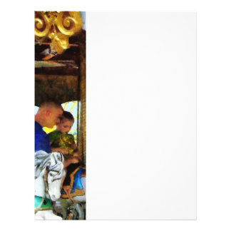 Primer paseo del carrusel folleto 21,6 x 28 cm