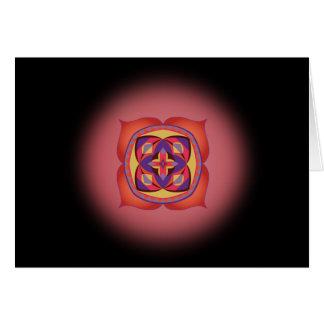 Primer paso a la tarjeta del alma con el primer
