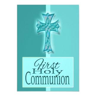 Primer religioso azul de la comunión santa