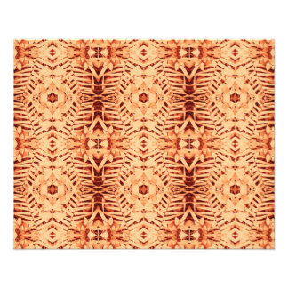 primer rojo de la cuna del batik y papel fino del